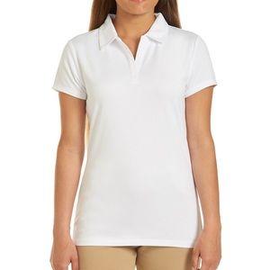 American Eagle White Polo Shirt NWT XXL
